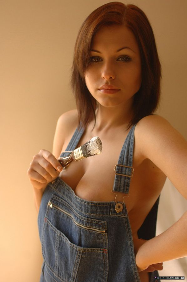 Sexy Women In Bib Overalls 24