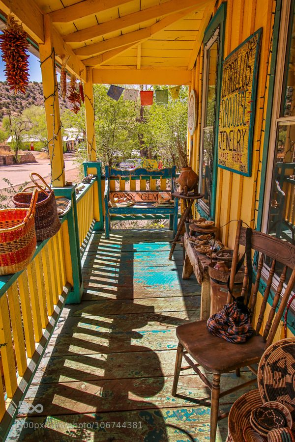 fourcolormusic: A little old town in New Mexico by Edtak