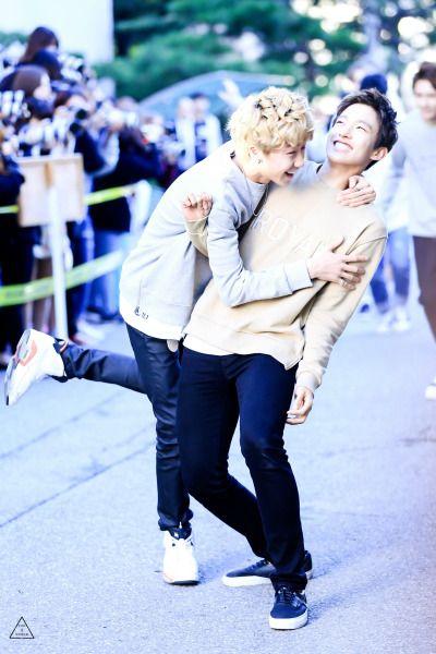 Minghao and Seokmin
