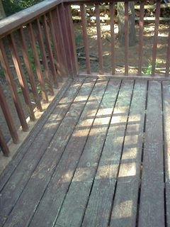25 year old deck worn by weather the before rustoleum for 200 sq ft deck