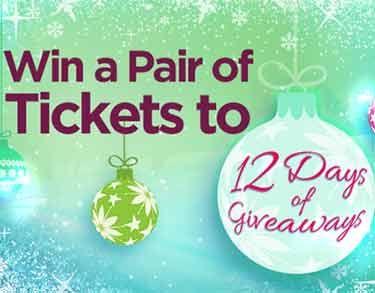 ellentv 12days tickets ellentv.com 12days   Win a Pair of Tickets to Ellens 12 Days of Giveaways 2013