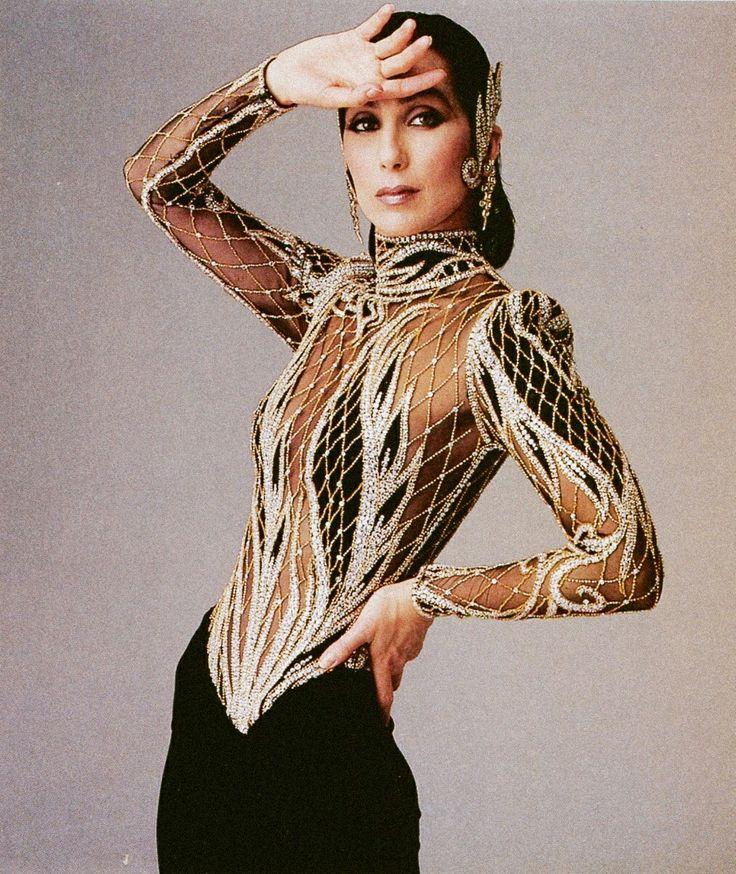 Cher in classic Bob Mackie