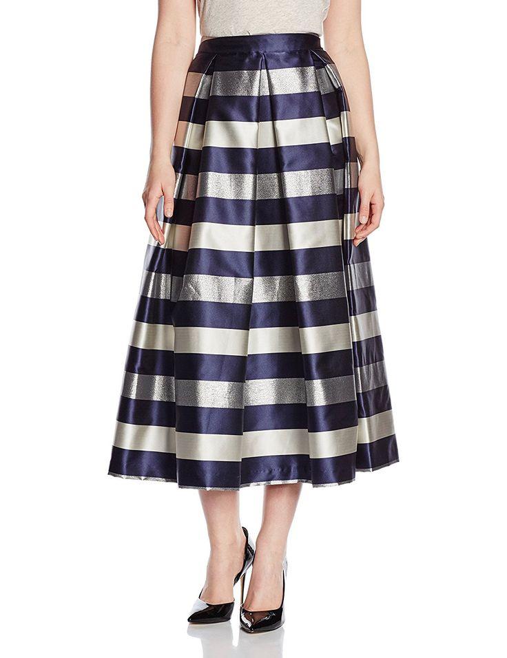 Silvian Heach Skirt Tavernanova, Gonna Donna: Amazon.it: Abbigliamento