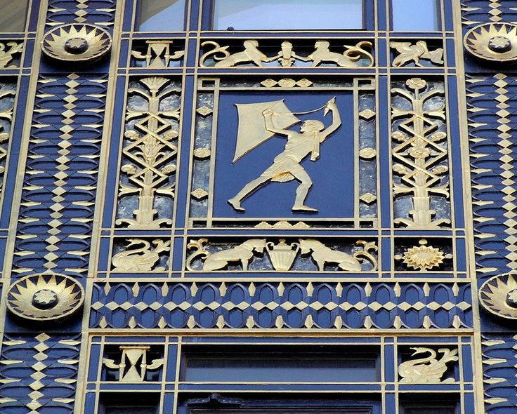 """Seven panels above the entrance doorway representing the Cycles of Life. in this case the Seven Ages of Man. These range from infant through youth and adulthood to old age. The Ruth & Raymond Perelman Building is part of the Philadelphia Museum of Art. It was originally built by the Fidelity Mutual Life Company in 1927. The exterior decoration was by sculptor Lee Lawrie with Hartley Burr Alexander. It is themed as """"family as the basis of society and civilization"""". This was to infer that…"""