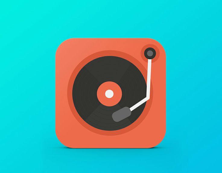 Music on the Go - iPad App icon