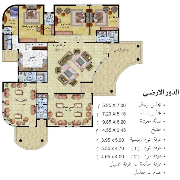 Www Stooob Com Architectural House Plans House Layout Plans Courtyard House Plans