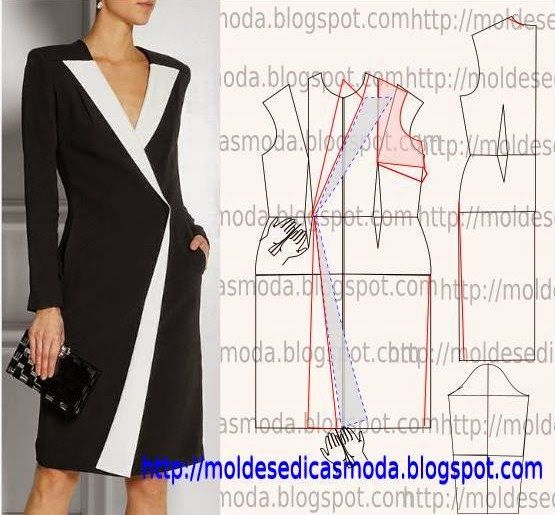CAST DRESS-160 ~ Templates Fashion by Measure