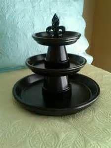 This is really pretty, love the Black Gloss Paint & the Finial ~ Terra Cotta…