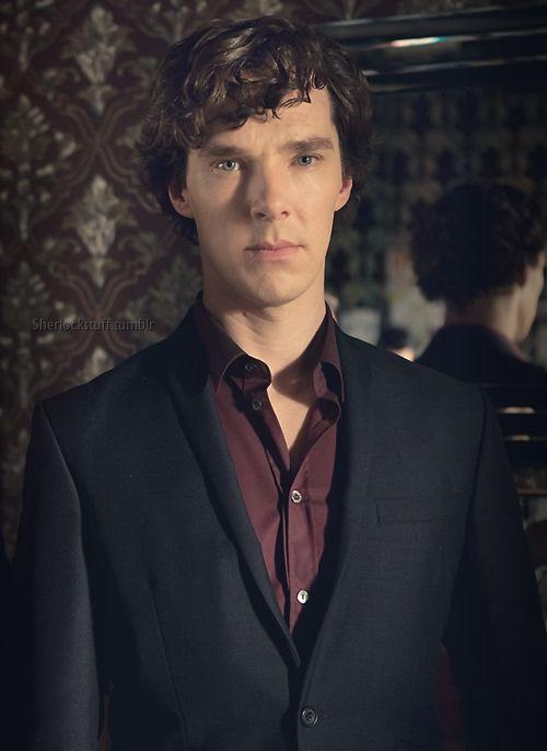 #Sherlock BBC 2013. Glad to see the purple shirt is back! http://www.pinterest.com/aggiedem/sherlock-addict/