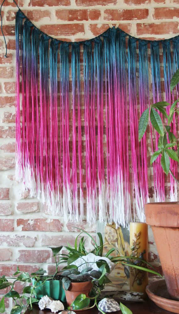 XL Wall Hanging by SlowDownProductions on Etsy