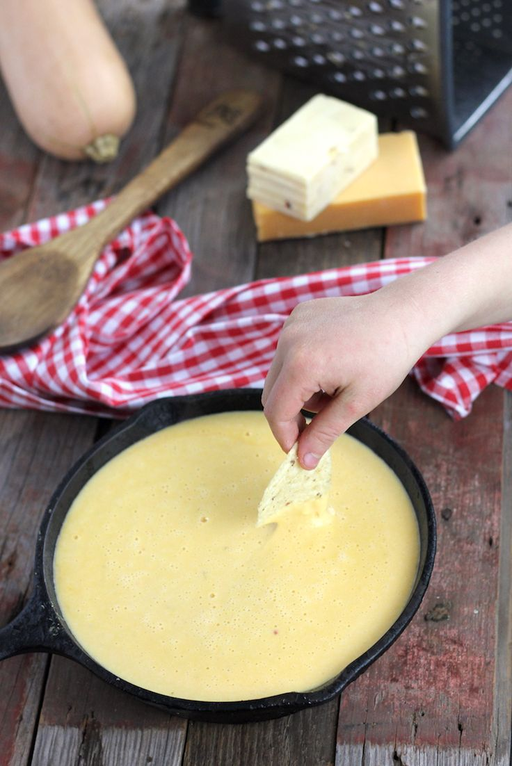 Make this lightened up gluten-free cheese sauce so you can enjoy MORE of it with no guilt, and more nutrition. It's so simple!
