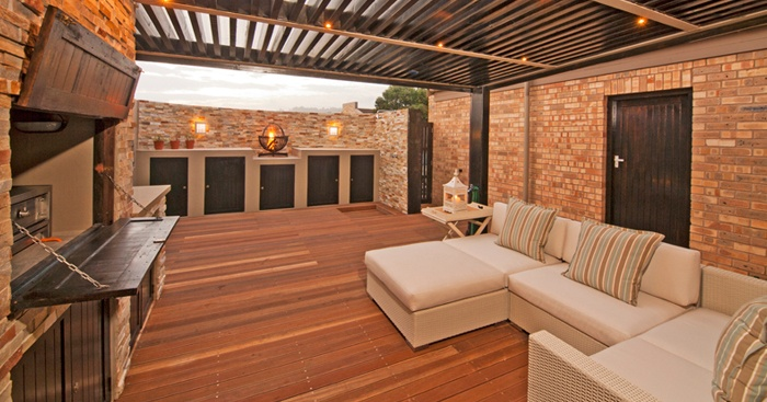 Beautiful all-weather braai area. | Braai Room Ideas ...