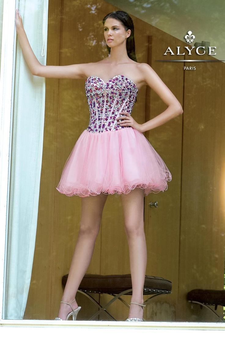 10 best Short Dresses By Alyce Paris images on Pinterest   Prom ...