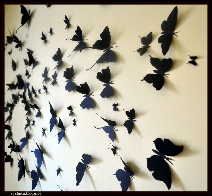 Lovely Schmetterling wanddeko