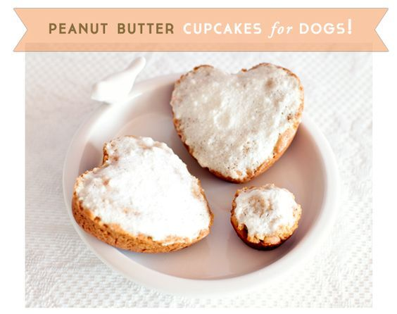 Cupcake Recipe for Dogs. Totally doing this for Mac & Fawkes' birthdays this year!! Aww :)