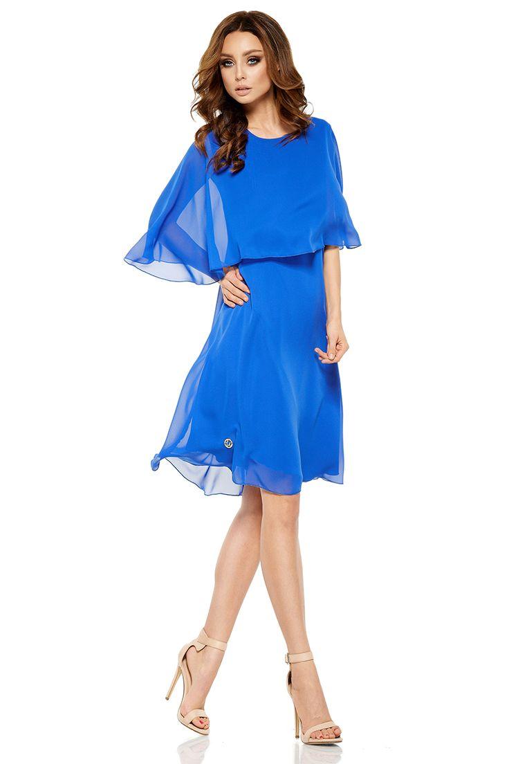Modré šaty L261 in 2021 | Fashion, Beautiful dresses, Dresses