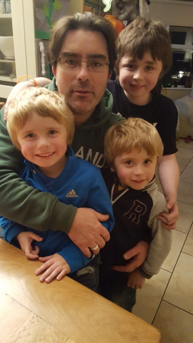 In November 2012, Paula and Padraic Naughton were told their  three sons, Archie, George and Isaac, had Duchenne Muscular Dystrophy, a fatal disease