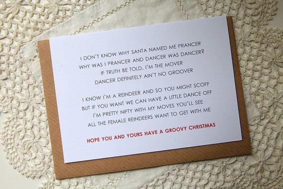 Christmas Card - Prancer the Dancer