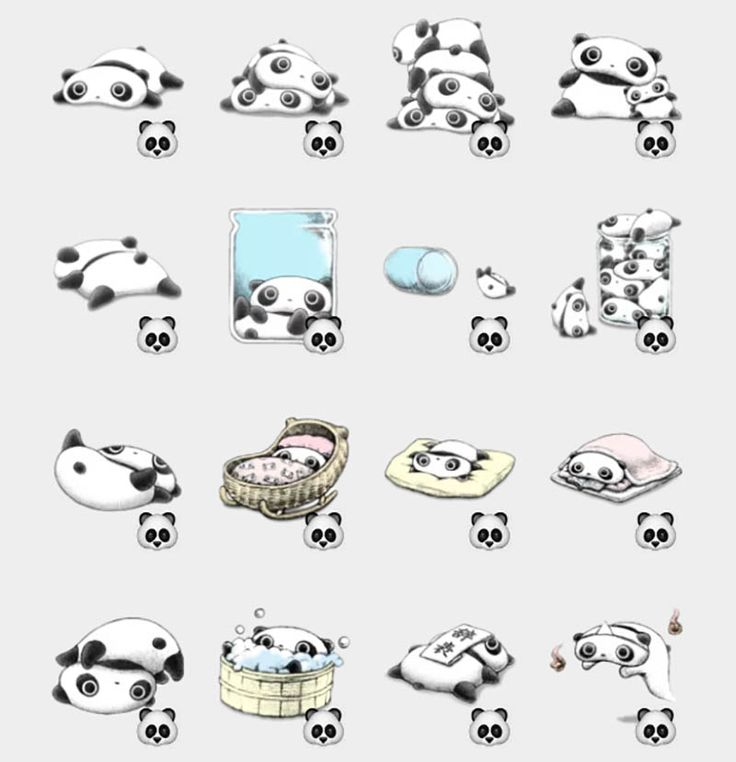 Tarepanda Stickers Set | Telegram Stickers