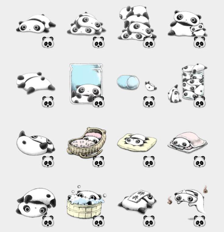 Tarepanda Stickers Set | Telegram Stickers