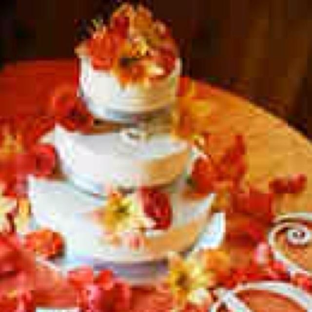 Inexpensive Wedding Cake Ideas: Cheap Fall Wedding Cake Ideas 85392
