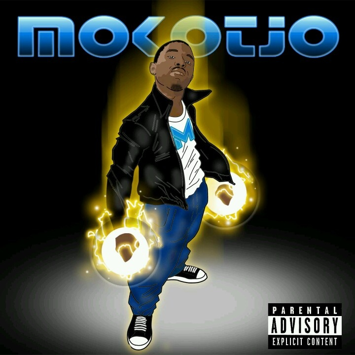"""CD sleeve design for """"Mokotjo"""""""