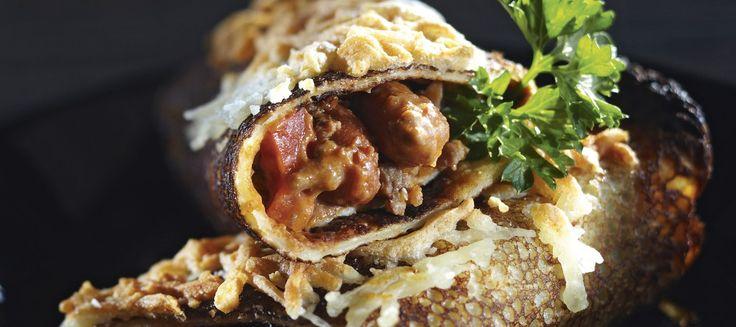 Meksikolaiset jauheliha-papuletut