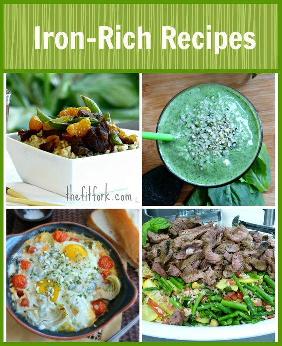 Anemia In Runners Healthy Iron Rich Recipes