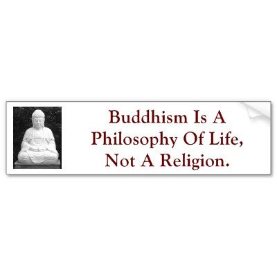 Buddhism. Yes, hence why I can follow it without 'ruining' my religion, or lack thereof.