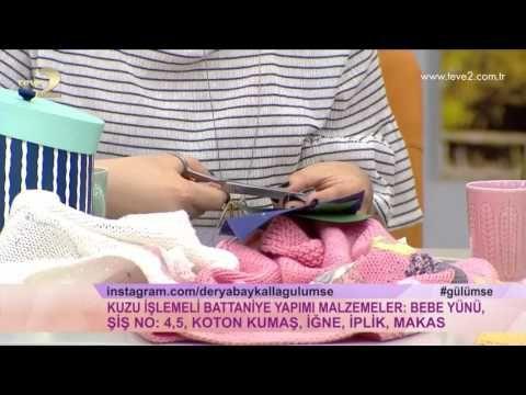 Derya Baykal'la Gülümse: Kuzu İşlemeli Battaniye Yapımı - YouTube