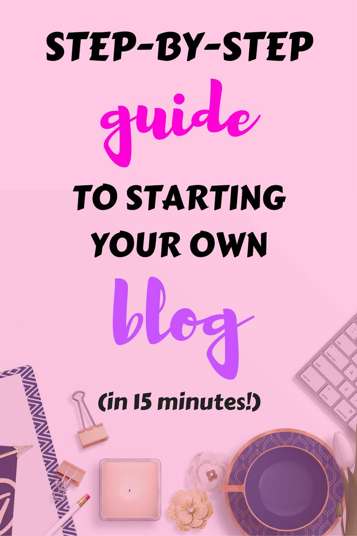 Follow this step-by-step guide to set up and get started with a blog or website – and make a little corner of the internet your own! // Life With Isabelle