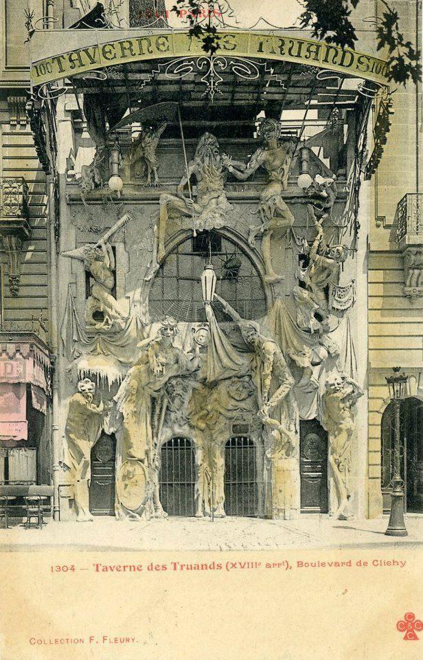 La Taverne des Truands, 100 Bd de Clichy à la Place du Théâtre des Deux Anes, Paris