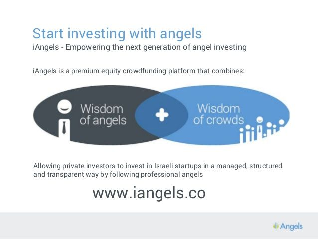 Start investing with iAngels Today!