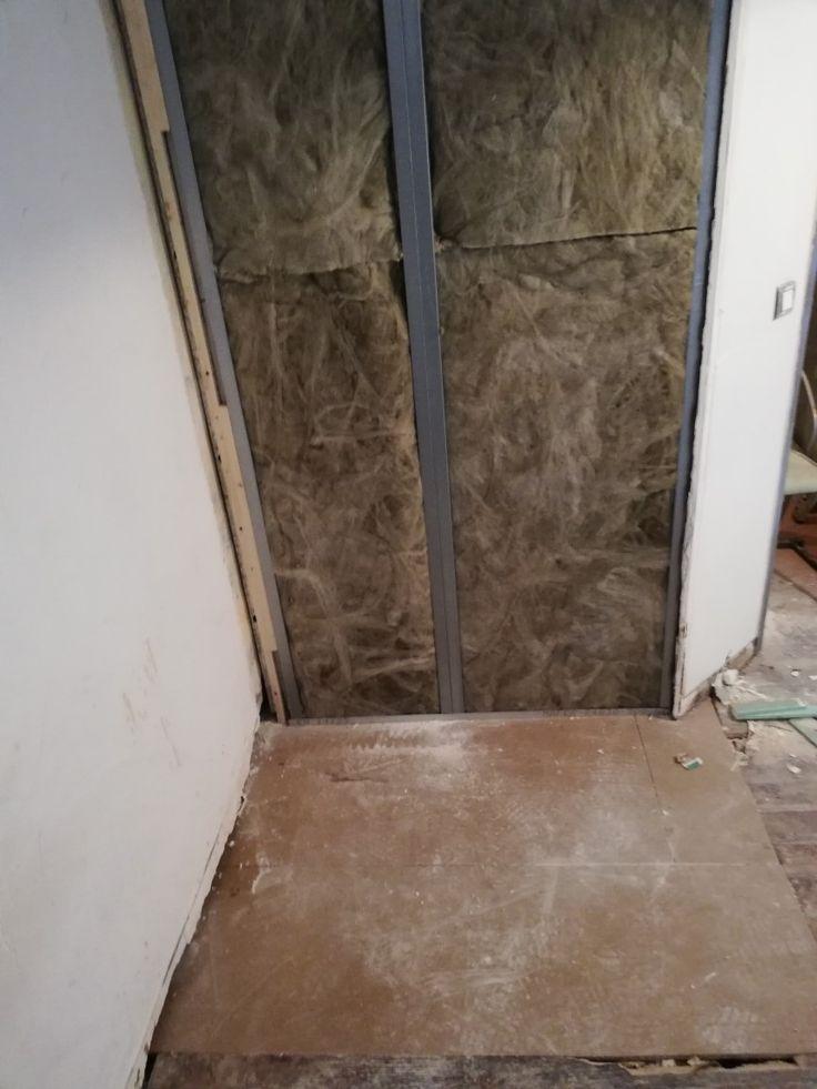 cloison placoplatre hydrofuge sdb renovation bois. Black Bedroom Furniture Sets. Home Design Ideas