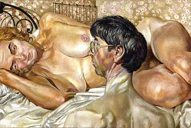 Stanley Spencer, Self Portrait with Patricia Preece, 1937