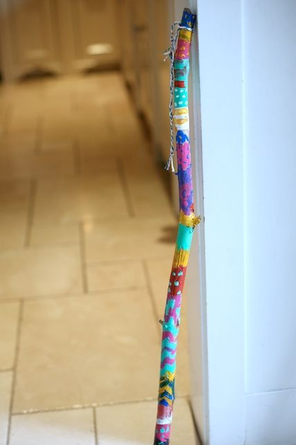 Colorful. Talking Sticks are used by many Native American tribes when they have council meetings, specifically tribes in the Northwest. The idea of the Talking Stick is to respect each other's opinions and viewpoints during important meetings where things are discussed, or agreements need [...]
