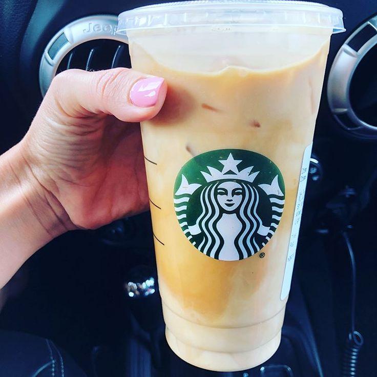 Starbucks Drink Order 🌟 🖤 Venti Iced Sugar Free Vanilla