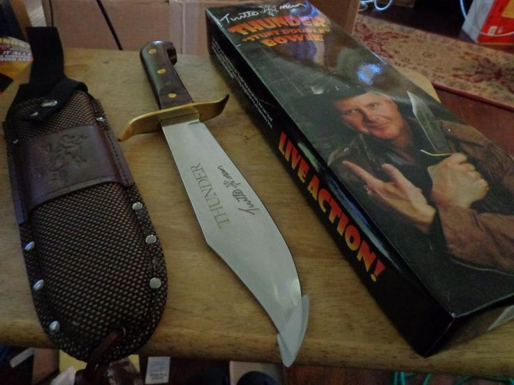 Turtle Man's THUNDER Bowie Hunting Knife