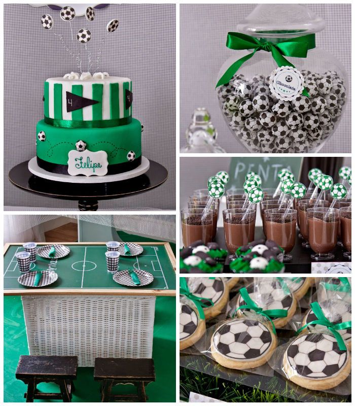 World Cup Soccer themed birthday party with Lots of Fun Ideas via Kara's Party Ideas | KarasPartyIdeas.com #worldcup #soccerparty #soccerbir...