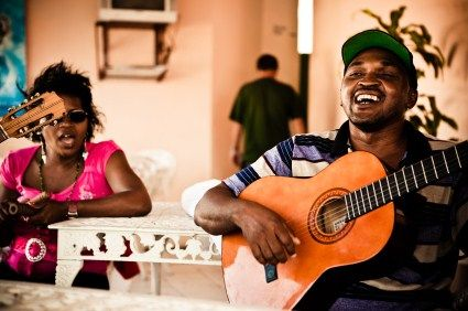 The friendly faces and sounds of Cuba