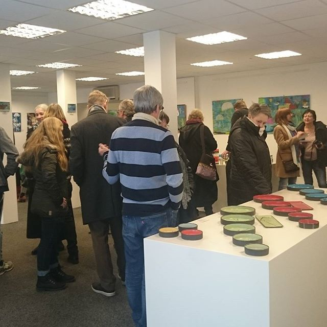 Vernissage in Gallery Lolland.