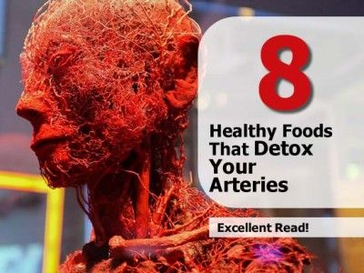 8 Healthy Foods That Detox Your Arteries