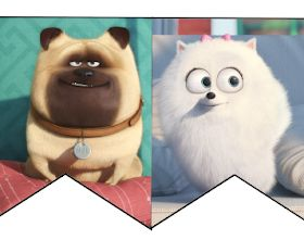 Musings of an Average Mom: Free Secret Life of Pets Party Printables – Cumple 2019