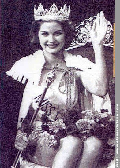 PENNY COELEN, MISS WORLD 1958