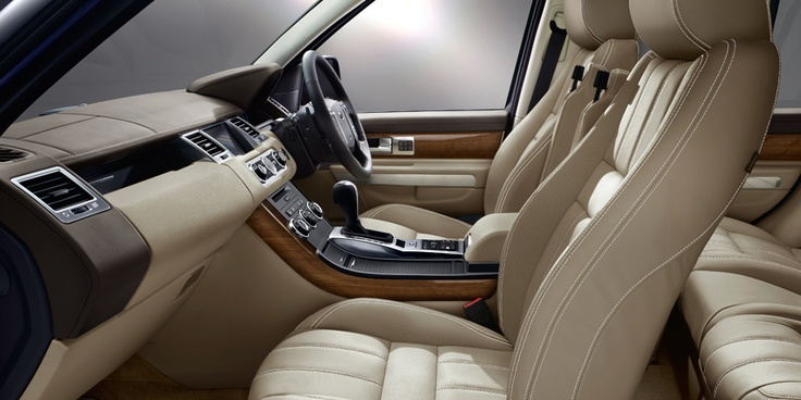 13 Model Year Range Rover Sport Interior In Almond