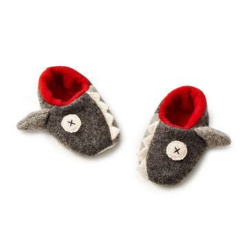 Look what I found at UncommonGoods: Baby Shark Slippers for $34 #uncommongoods