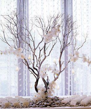 Wedding, White, Centerpieces, Modern wedding flowers decor, Winter wedding flowers decor