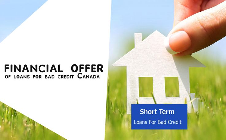 You can use short term for urgent money situation with online and unsecured option even without any documentation formalities. Go online and apply now -> http://www.shorttermloansforbadcredit.ca/loans-for-bad-credit-canada.html