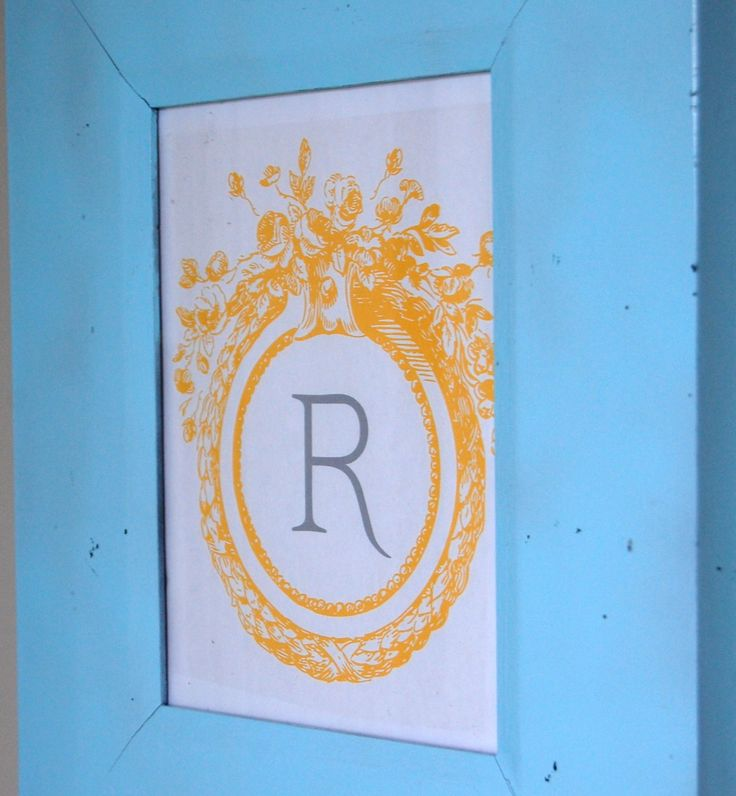 Image Result For Monogram Wall Decor