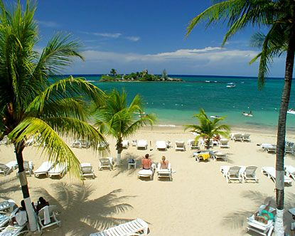 Jamaica: As the third largest Caribbean island (after Cuba and Hispaniola), Jamaica has hundreds of miles of beautiful coastline. The beaches of Jamaica are some of the finest in the Caribbean.